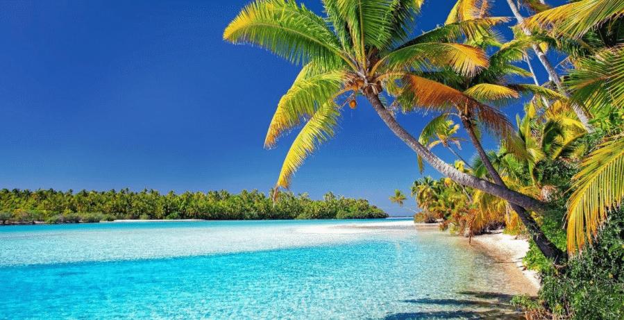 下一站旅游目的地 阳光沙滩库克岛