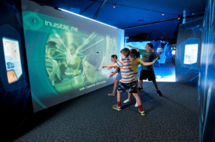 來自澳洲的高科技展  各種有趣體驗  暑假可以去看下