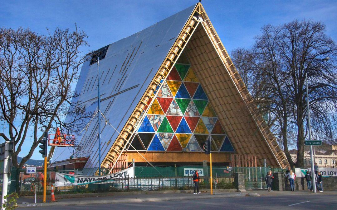 在最後一刻獲批 基督城紙板大教堂終於成「永久」建築物